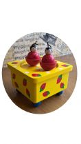 New from our range of wooden music boxes, the Dancing Ladybirds 43847